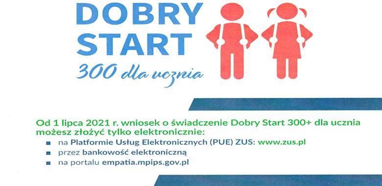 Dobry Start 300+ dla ucznia. Przyjdź na spotknie z ekspertem ZUS, który założy go dla Ciebie