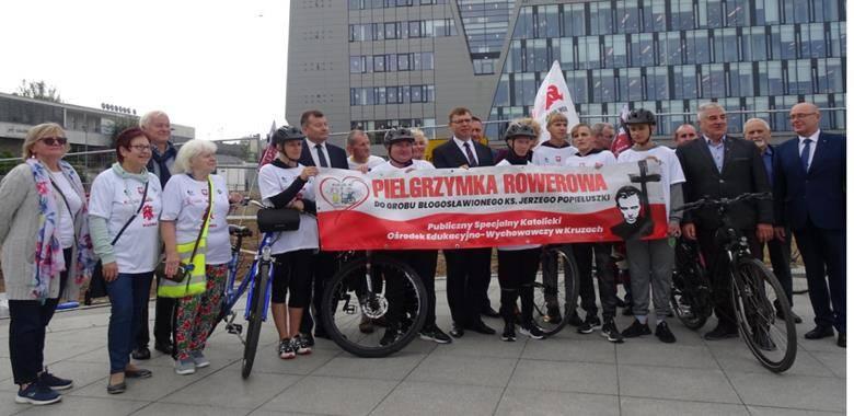 XV sztafeta rowerowa do grobu bł. ks. Jerzego Popiełuszki