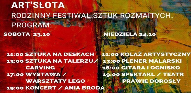 ART'Słota - Rodzinny Festiwal Sztuk Rozmaitych